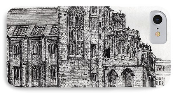 Rylands Library IPhone Case by Vincent Alexander Booth