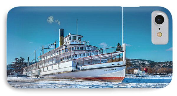 IPhone Case featuring the photograph S. S. Sicamous by John Poon
