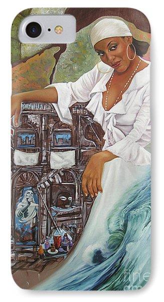 Sabanas Blancas IPhone Case by Jorge L Martinez Camilleri