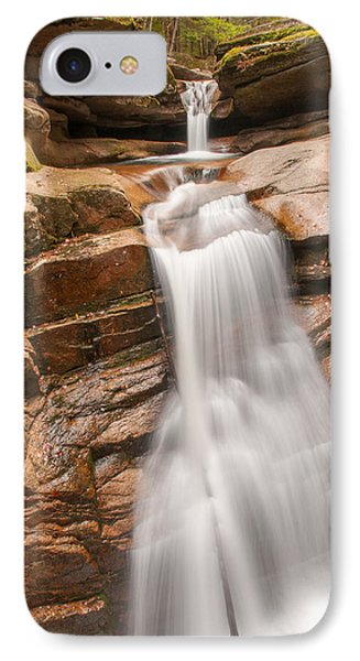 Sabbaday Falls IPhone Case by Brenda Jacobs