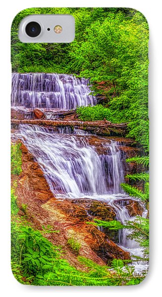 IPhone Case featuring the photograph Sable Falls by Nick Zelinsky
