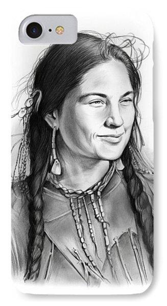 Sacagawea IPhone Case by Greg Joens
