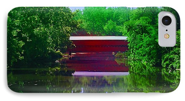 Sachs Covered Bridge - Gettysburg Pa Phone Case by Bill Cannon