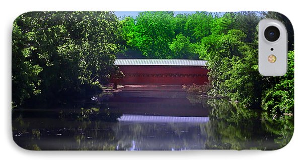 Sachs Covered Bridge In Gettysburg  Phone Case by Bill Cannon