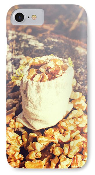 Sack Of Country Walnuts IPhone Case by Jorgo Photography - Wall Art Gallery