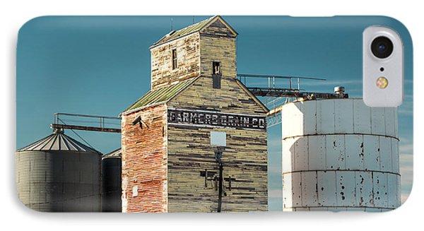 Saco Grain Elevator IPhone Case by Todd Klassy