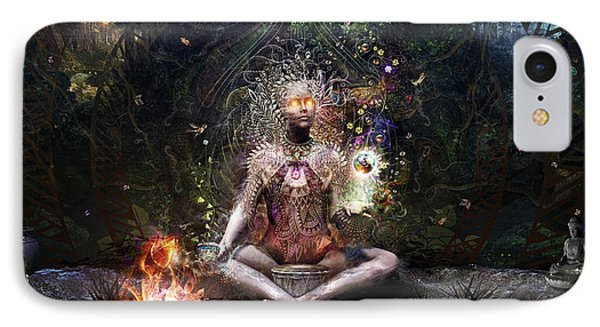Sacrament For The Sacred Dreamers IPhone Case by Cameron Gray