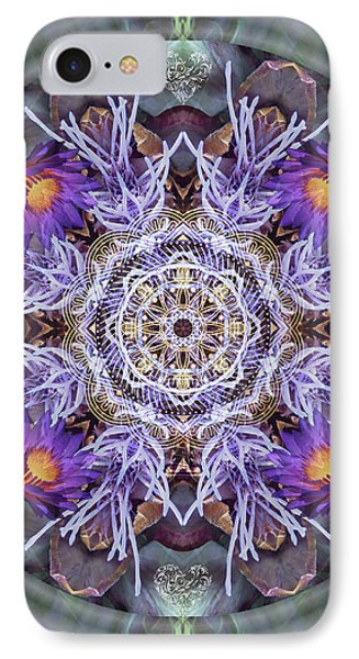 Sacred Emergence IPhone Case by Alicia Kent