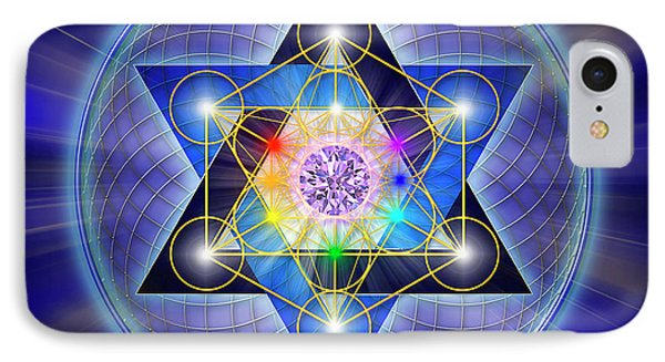 Sacred Geometry 15 Phone Case by Endre Balogh