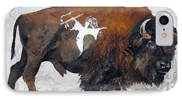 Sacred Gift IPhone Case by J W Baker