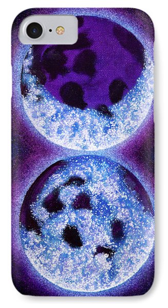 Sacred Masculine Blue Moon  IPhone Case