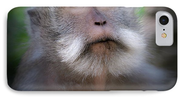 Sacred Monkey Forest Sanctuary IPhone 7 Case by Larry Marshall