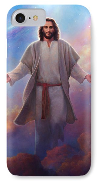Planets iPhone 7 Case - Sacred Space by Greg Olsen