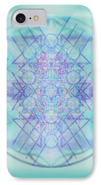 Sacred Symbols Out Of The Void A2b Phone Case by Christopher Pringer