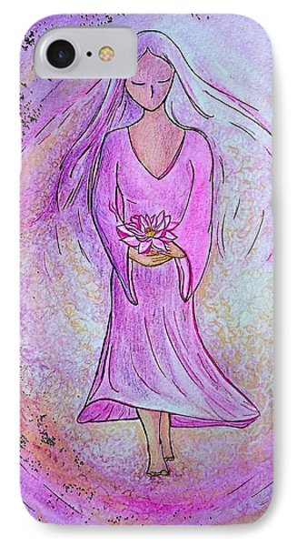 Sacred Woman IPhone Case by Gioia Albano