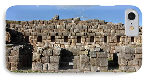 Sacsaywaman Cusco, Peru IPhone Case by Aidan Moran