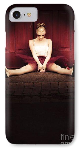 Sad Dancer IPhone Case by Jorgo Photography - Wall Art Gallery