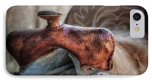 Saddle Up Still Life II IPhone Case by Tom Mc Nemar