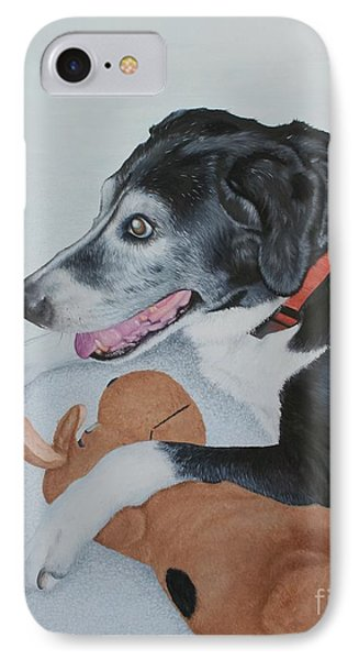 Sadie IPhone Case by Mike Ivey
