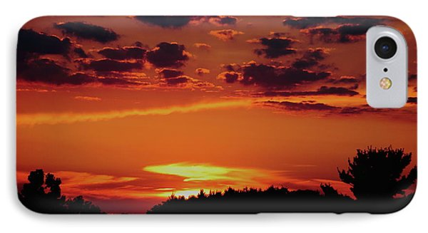 IPhone Case featuring the photograph Sadie's Sunset by Bruce Patrick Smith