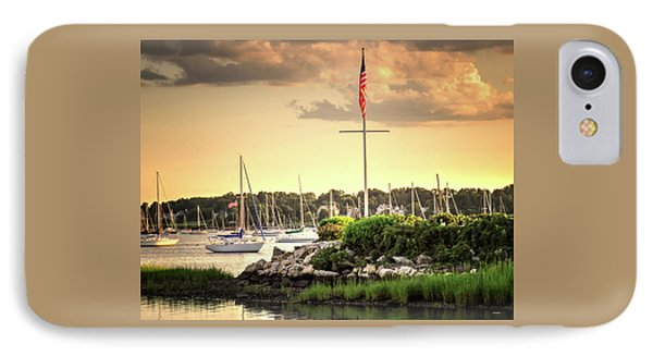 IPhone Case featuring the photograph Safe Harbor Bristol Ri by Tom Prendergast