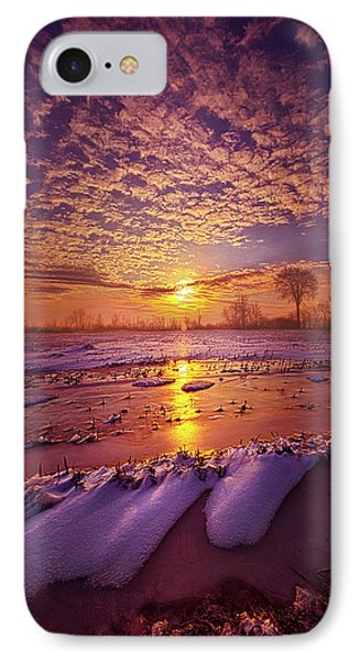 IPhone Case featuring the photograph Safely Secluded In A Far Away Land by Phil Koch