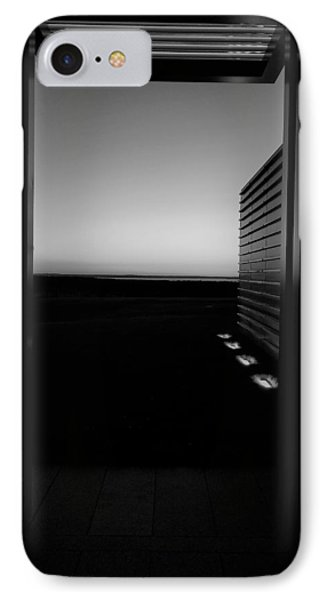 IPhone Case featuring the photograph Sag Harbor Sunset 2 In Black And White by Rob Hans