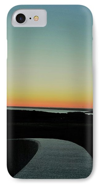 IPhone Case featuring the photograph Sag Harbor Sunset 3 In Black And White by Rob Hans