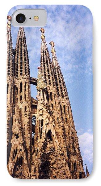 Sagrada Familia IPhone Case by Sandy Taylor
