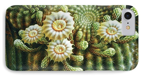 Saguaro Cactus Blossoms IPhone Case