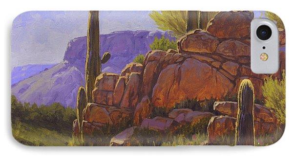 Saguaro Sunshine Phone Case by Cody DeLong