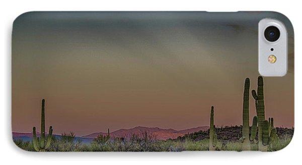 Saguaros Salute Rays Rising IPhone Case