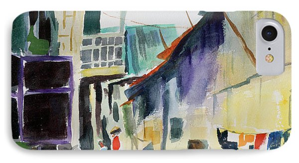 Saigon Alley IPhone Case by Tom Simmons