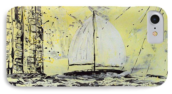 Sail And Sunrays Phone Case by J R Seymour