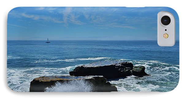 Sail And Surf Spray  IPhone Case by Marilyn MacCrakin