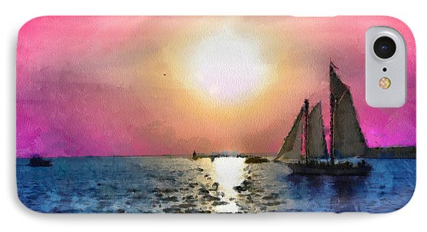 Sail Away IPhone Case by Anthony Caruso