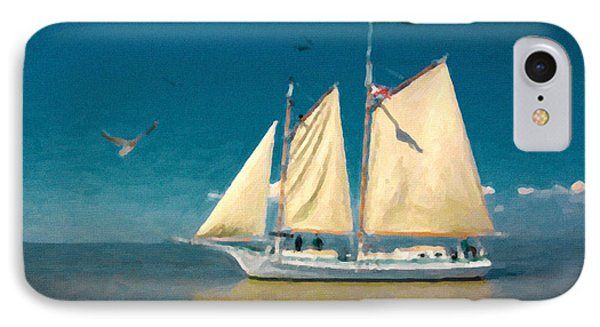 IPhone Case featuring the painting Sail Away by Chris Armytage