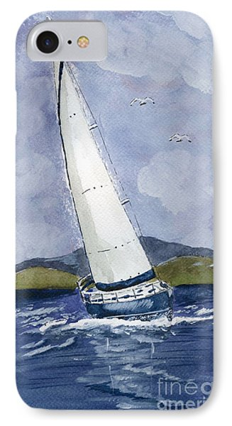 Sail Away IPhone Case by Eva Ason