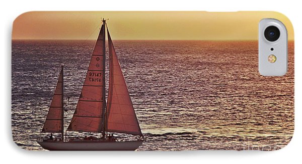 Sail Away Phone Case by Maria Arango