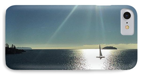 Sail Free IPhone Case by Victor K