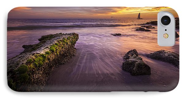 Sail Into The Sunset IPhone Case by Marvin Spates