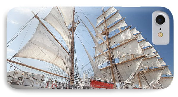 IPhone Case featuring the photograph Sail Training Ship Nippon Maru by Aiolos Greek Collections