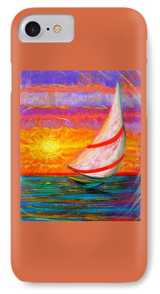 Sailaway IPhone Case by Jeanette Jarmon