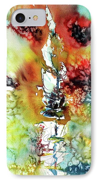Sailboat After Storm IPhone Case by Kovacs Anna Brigitta