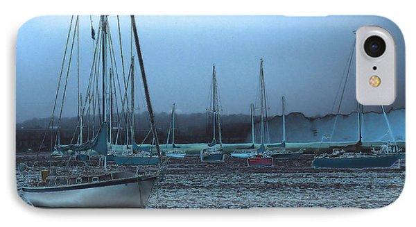 Sailboat Harbor Phone Case by Karol Livote
