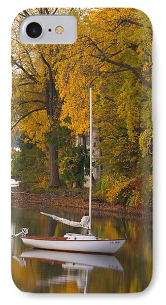 Sailboat In Alburg Vermont  IPhone Case