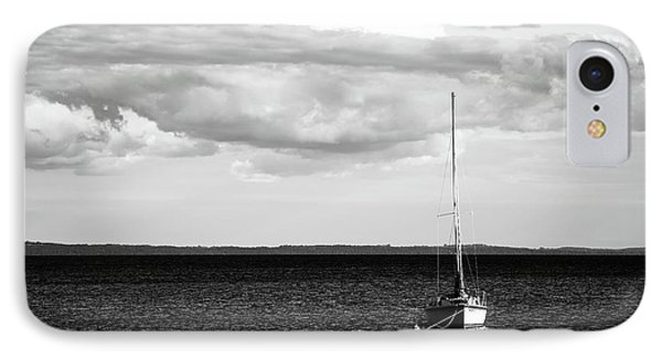 Sailboat In The Bay IPhone Case by Onyonet  Photo Studios