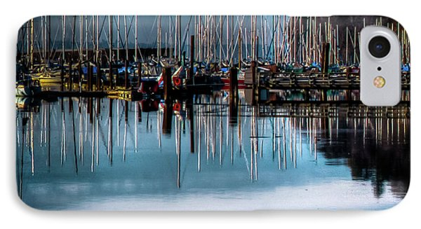 Sailboats At Sunset IPhone Case by David Patterson