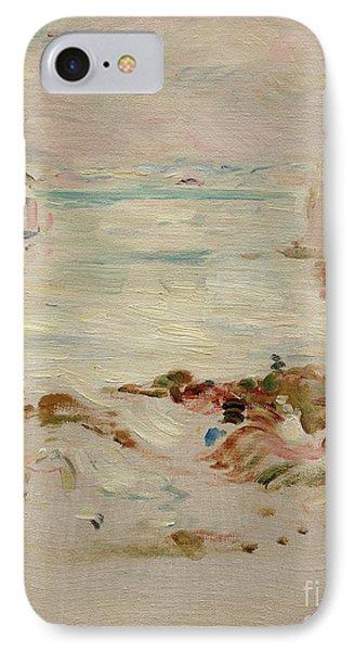 Sailboats IPhone Case by Berthe Morisot