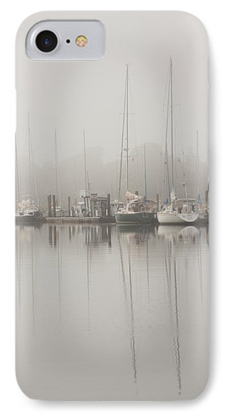 Sailboats In Stillness IPhone Case